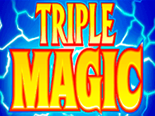 Triple Magic от Microgaming бонусы автомата Вулкан Делюкс